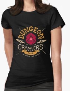 Dungeon Crawlers Womens Fitted T-Shirt