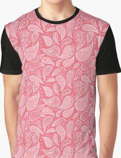 Pink Paisley Graphic T-Shirt