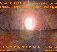 FOCUS ON BENEFITING OTHERS by Lorraine Wright
