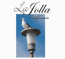 La Jolla Beach Seagull II Kids Tee