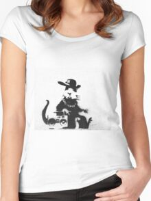 Ghetto fabulous Women's Fitted Scoop T-Shirt