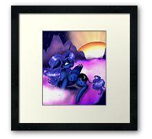 MLP - Princess Luna Framed Print