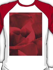 Satin-red rose petals T-Shirt