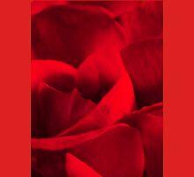 Satin-red rose petals Unisex T-Shirt
