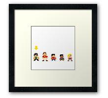 The Big Bang Theory game Framed Print
