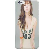 Cute asian waifu iPhone Case/Skin