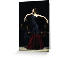 Encantado por Flamenco Greeting Card