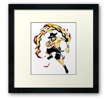 Ace Fire Framed Print