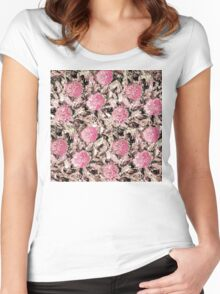Healing flower of Rugmini 5 Women's Fitted Scoop T-Shirt