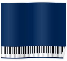 Musician Piano Keys Cell Phone Case Cover Poster