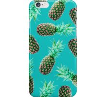 Green Tropical Pineapple iPhone Case/Skin