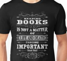 READING BOOKS  Unisex T-Shirt