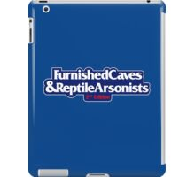 Furnished Caves And Reptile Arsonists iPad Case/Skin