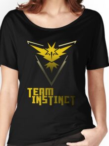 Team Instinct! - Pokemon Women's Relaxed Fit T-Shirt