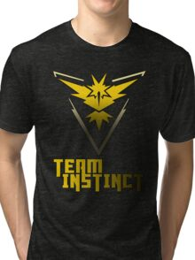 Team Instinct! - Pokemon Tri-blend T-Shirt