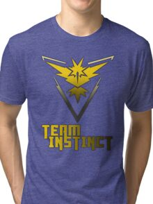 Team Instinct! - Pokemon Tri-blend T-Shirt