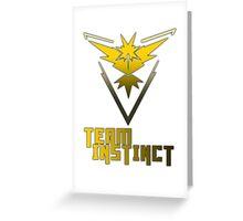 Team Instinct! - Pokemon Greeting Card