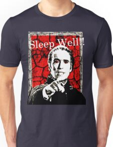 Dracula - Sleep Well!! Unisex T-Shirt