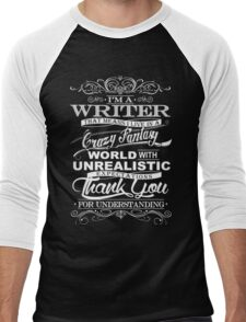 I'M A WRITER  Men's Baseball ¾ T-Shirt