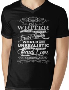 I'M A WRITER  Mens V-Neck T-Shirt