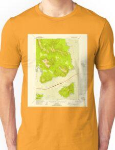 USGS TOPO Map Alaska AK Mount Fairweather B-1 357582 1948 63360 Unisex T-Shirt