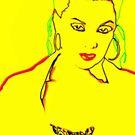 Yellow Pop Art Print- No. 1 by MoGeoPhoto