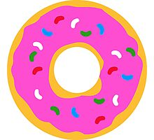 A Pink Donut! Photographic Print