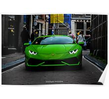 Lamborghini Huracán LP610-4 Poster