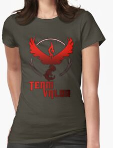 Team Valor! - Pokemon Womens Fitted T-Shirt