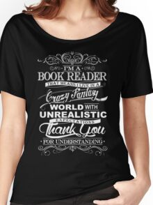 I'M A BOOK READER  Women's Relaxed Fit T-Shirt
