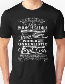 I'M A BOOK READER  Unisex T-Shirt