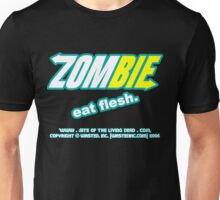 ZOMBIE: eat flesh Unisex T-Shirt