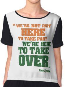 Conor McGregor - Quotes [TakeOver] Chiffon Top