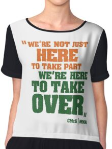 Conor McGregor - Quotes [TakeOver] Chiffon Top