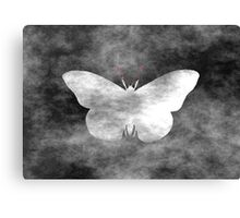 Grunge Butterfly Canvas Print