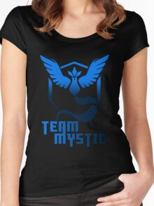 Team Mystic! - Pokemon Women's Fitted Scoop T-Shirt