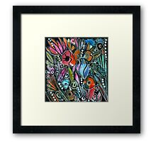 This Is How My Garden Grows Framed Print