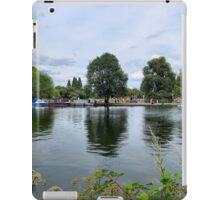 RIVERSIDE REFLECTIONS. iPad Case/Skin