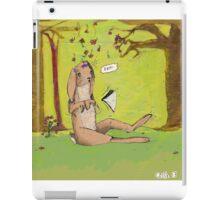Silly pranks iPad Case/Skin