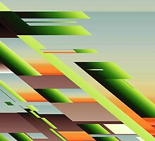 Abstract (Build a Hill) by pennydigital