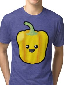 Yellow Pepper Tri-blend T-Shirt