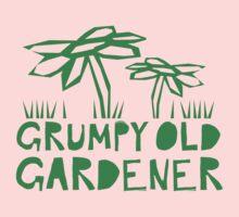 grumpy old gardener Kids Tee