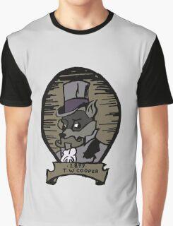 The Gentleman Thief Portrait Graphic T-Shirt