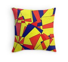 Shattering Illusions Throw Pillow