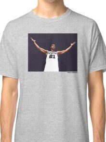 Tim Duncan Retirement Special Edition - SMILE DESIGN Classic T-Shirt