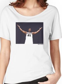 Tim Duncan Retirement Special Edition - SMILE DESIGN Women's Relaxed Fit T-Shirt