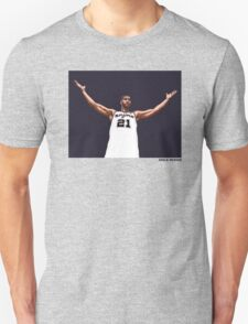 Tim Duncan Retirement Special Edition - SMILE DESIGN Unisex T-Shirt