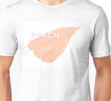Peach Paint Unisex T-Shirt