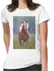 Backlit Beauty Womens Fitted T-Shirt