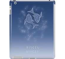 Pisces Zodiac constellation - Starry sky iPad Case/Skin